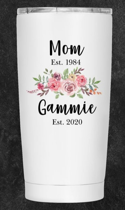 SuchGiftsCo Personalized Gammie Tumbler