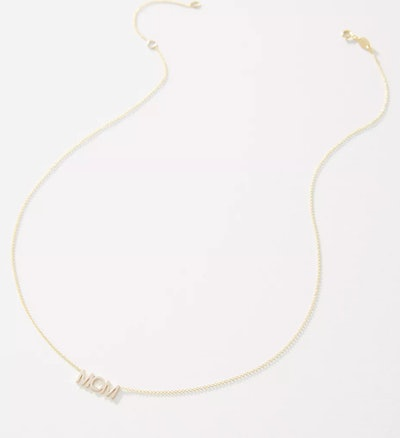 Maya Brenner 14K Gold Mom Necklace