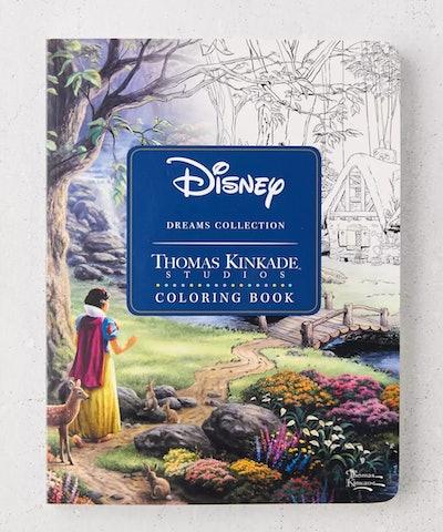 Disney Dreams Collection Thomas Kinkade Studios Coloring Book By Thomas Kinkade