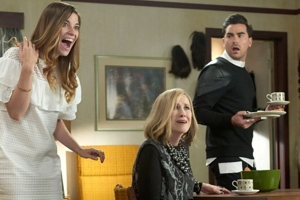 The cast of 'Schitt's Creek' on PopTV