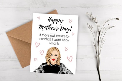 Schitts Creek Mother's Day Card - Moira Rose