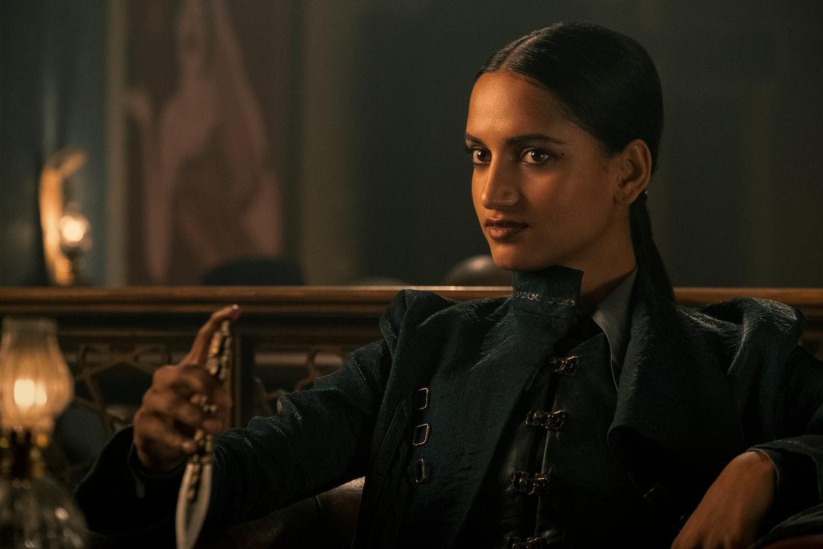 Amita Suman as Inej Ghafa in Shadow and Bone.