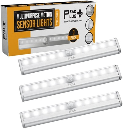 PEAKPLUS LED Motion Sensor Night Light (3-Pack)
