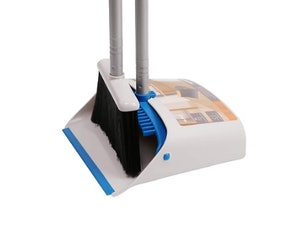 TreeLen Long Handle Broom and Dustpan Set