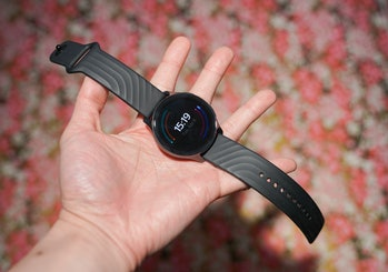 Everyone's just shamelessly copying the Apple Watch sport band at this point.