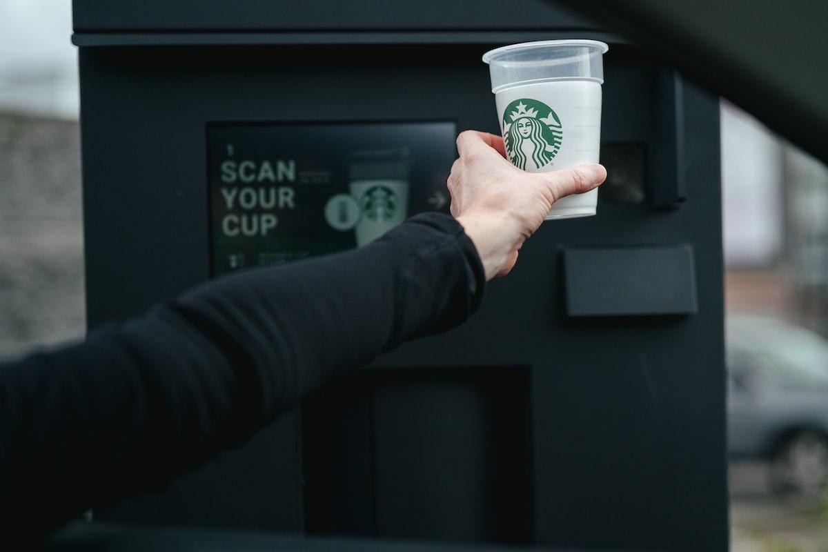 Starbucks' Borrow A Cup program will kick off at five Seattle locations.