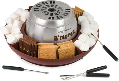 Nostalgia Stainless Steel S'more Maker