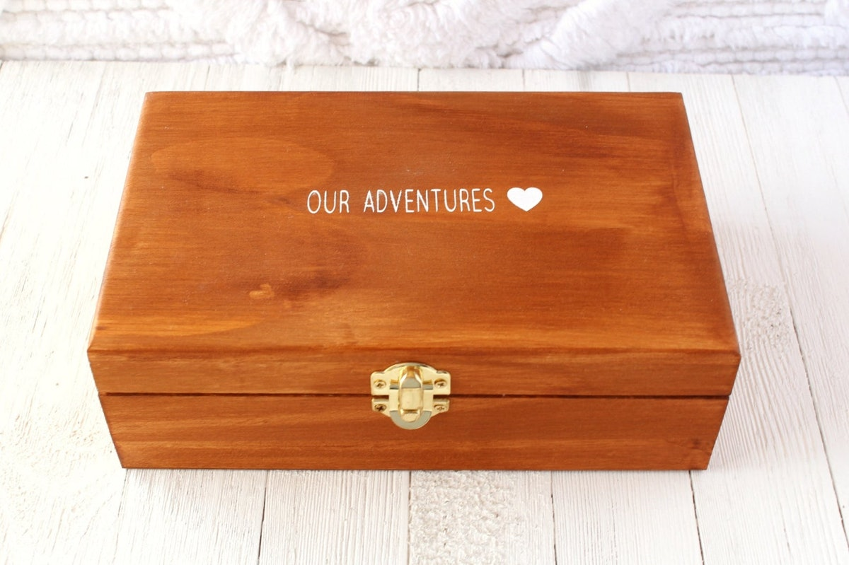 Personalized Wooden Box