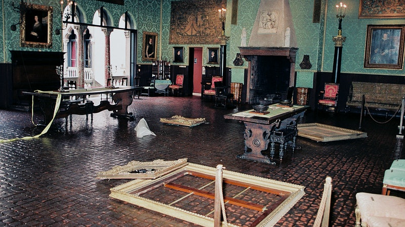 """The Isabella Gardner Museum in the aftermath of the heist featured in """"This is a Robbery: The World'..."""