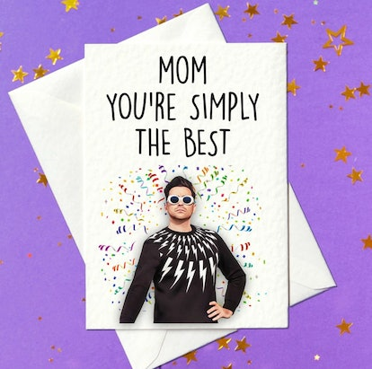 Mom You're Simply The Best - Mothers Day Card