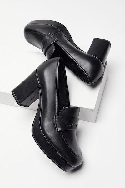 Femme Heeled Loafer