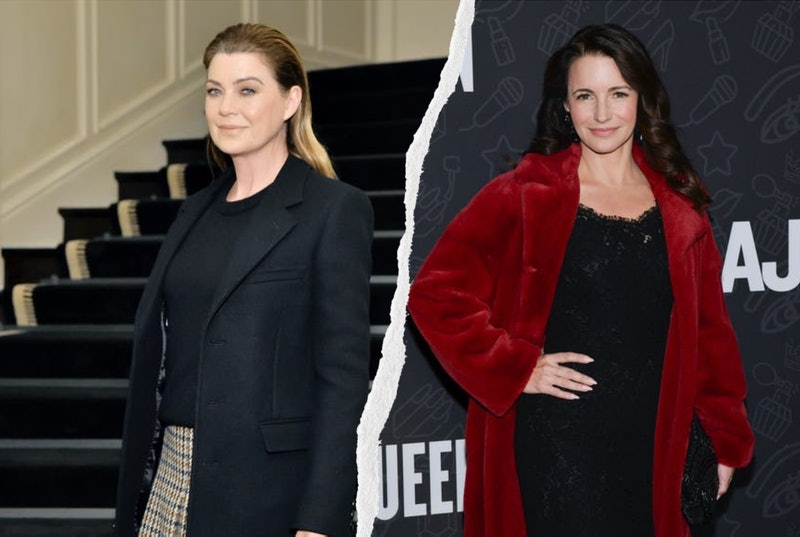 Kristin Davis stars in HBO Max's new comedy 'Deeds,' with Ellen Pompeo serving as producer. Photos via Rodin Eckenroth/FilmMagic/Getty Images & Stefanie Keenan/Getty Images Entertainment/Getty Images.