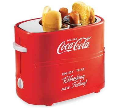 Nostalgia Hot Dog and Bun Toaster