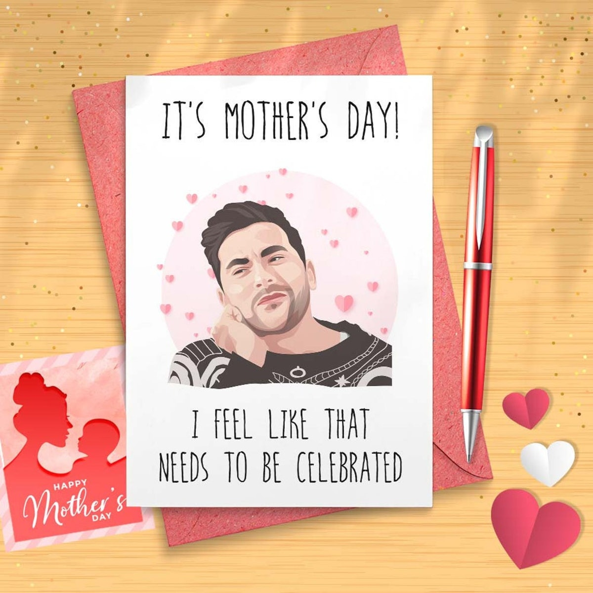 David Rose Mother's Day Card