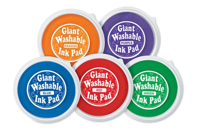 Bright Giant Washable Color Ink Pads