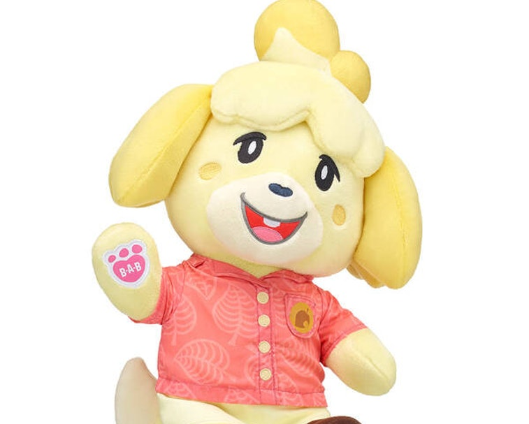 Isabelle from Animal Crossing.