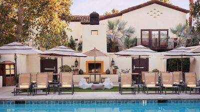 The Pool At Estancia La Jolla
