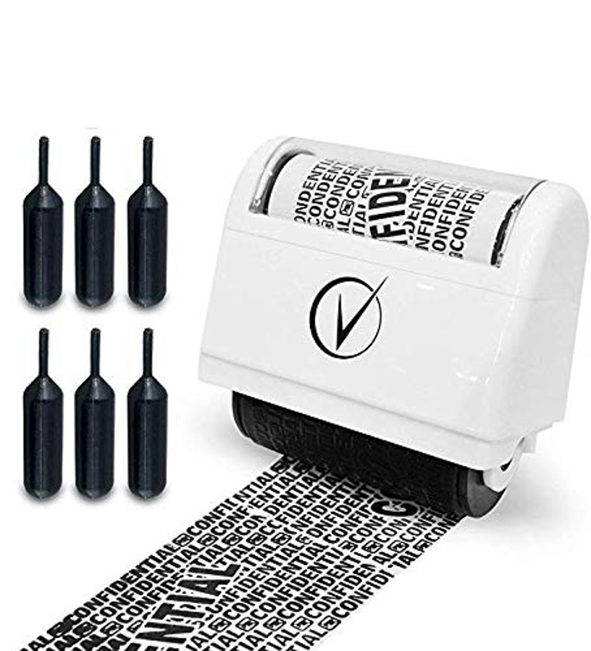 Vantamo Identity Protection Roller Stamps Wide Kit