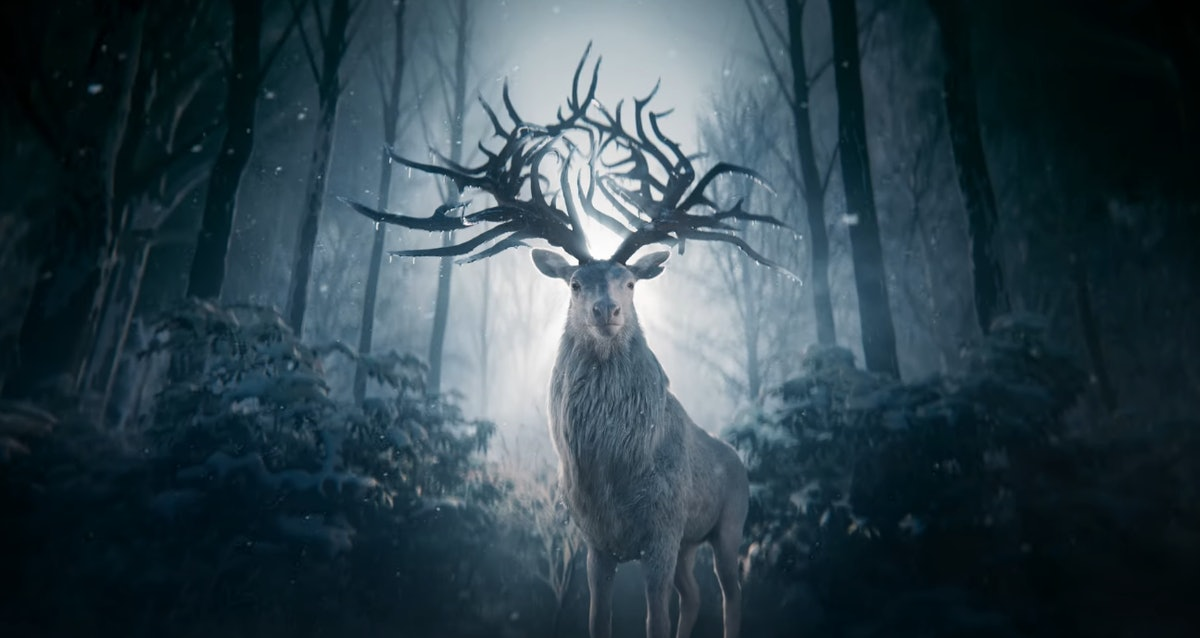 Morozova's Stag in Shadow And Bone