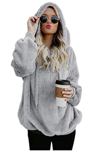 Romanstii Faux Fleece Pullover