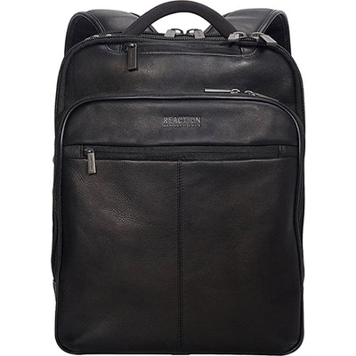 Kenneth Cole Reaction Manhattan Leather Travel Backpack