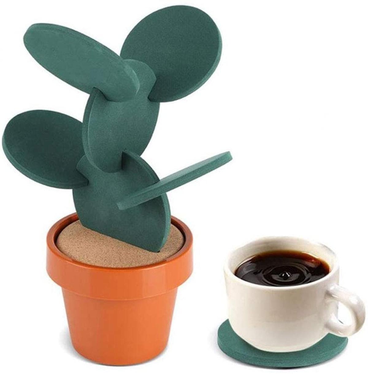 Buery Cactus Coasters