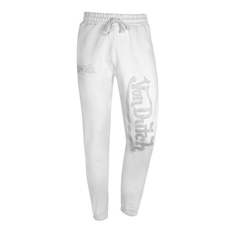 Jogger with Clear Rhinestones