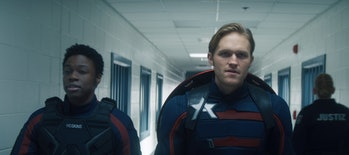 """Wyatt Russell in """"The Falcon and the Winter Soldier"""""""