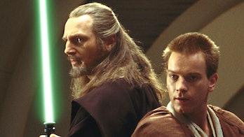 Qui Gon Jinn Obi Wan Kenobi Book reveal