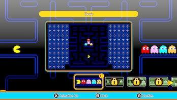 pac-man 99 theme select screen classic dlc