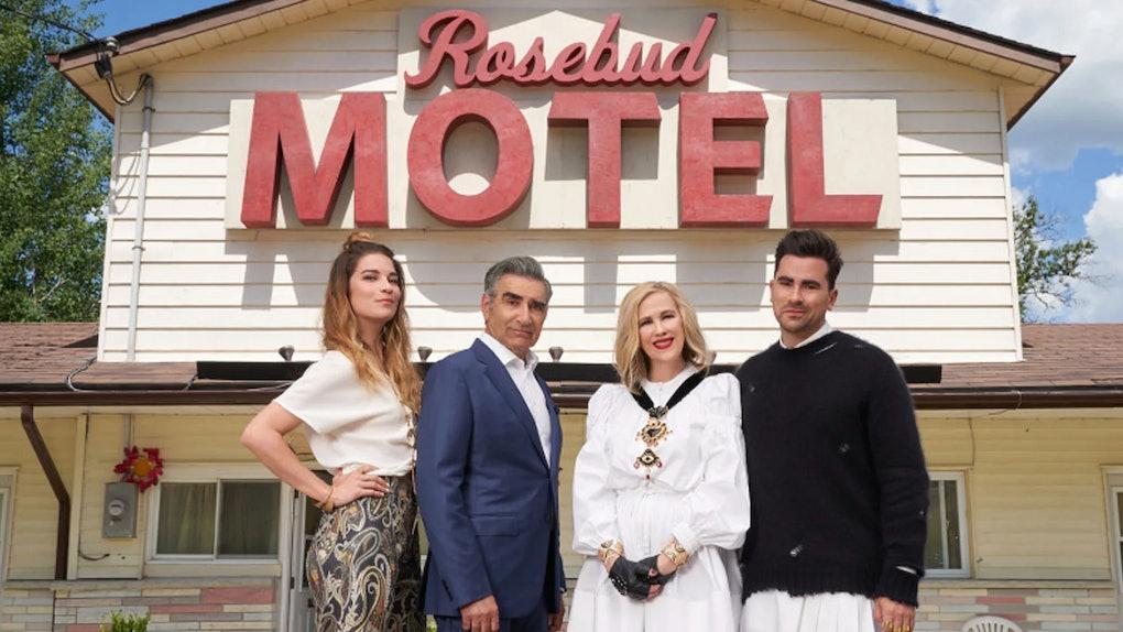The Rose family on PopTV's 'Schitt's Creek'