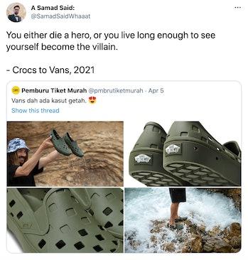 Vans Trek Slip-On Crocs