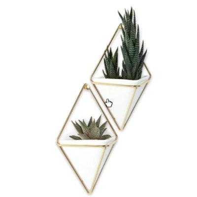 Umbra Trigg Geometric Hanging Planter Vase