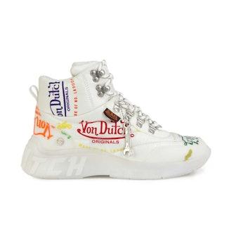 White Puffer Shoe