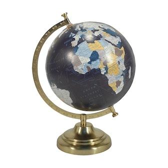 Desktop Globe w/ Gold Base