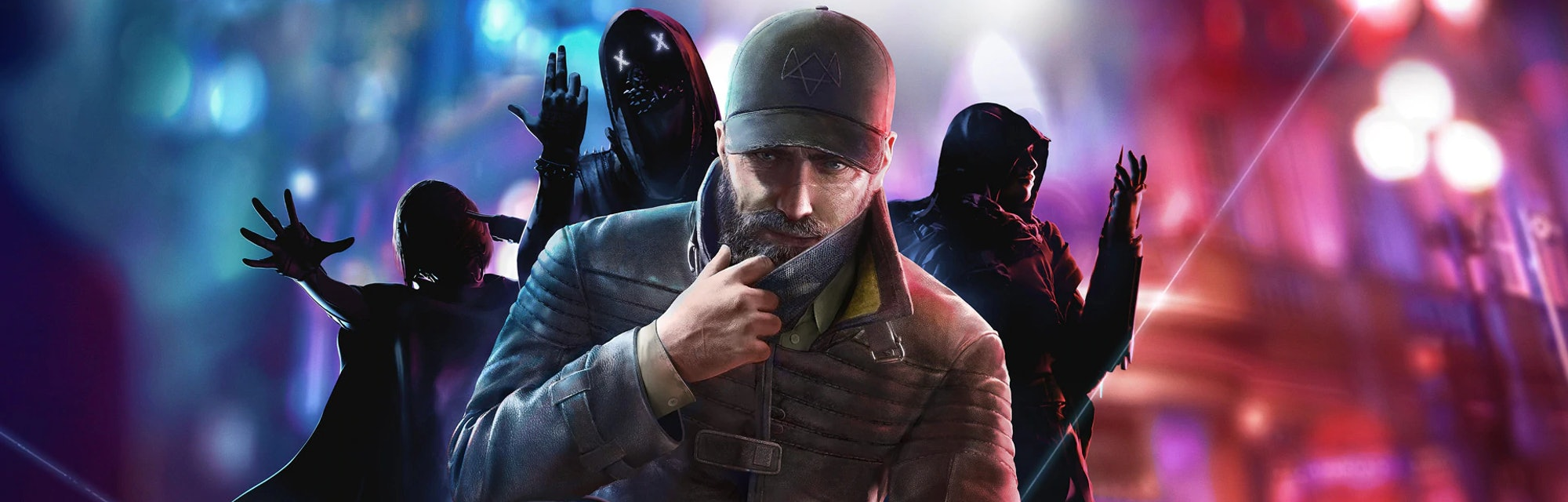 A wallpaper of Watch Dogs: Legion by Ubisoft.