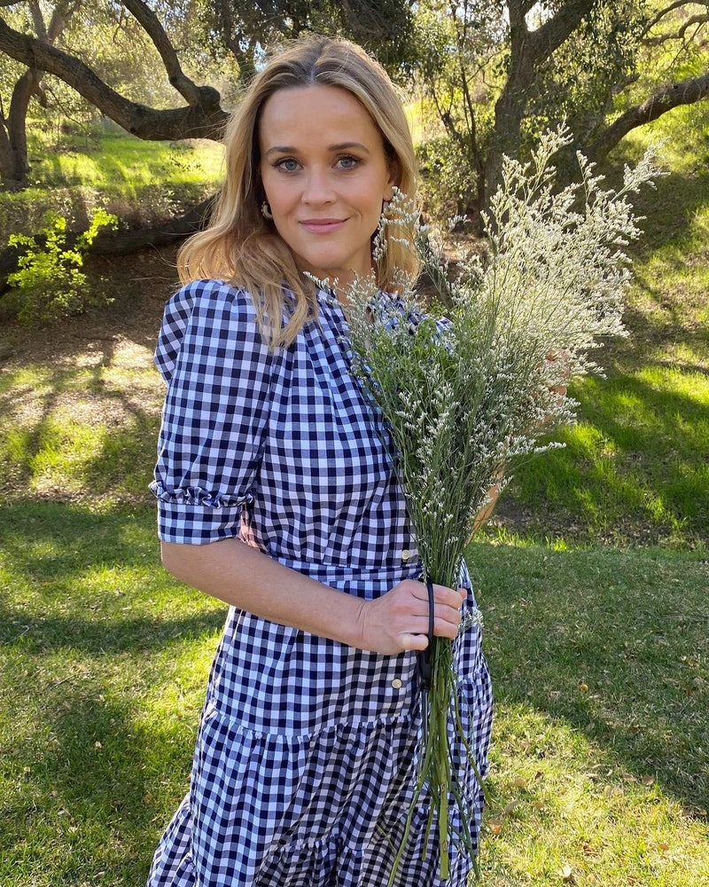 Reese Witherspoon celebrity flower arrangement ideas
