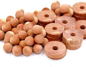 Cedar Home Cedar Blocks (40-Pieces)