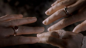 The three Elven Rings of Power.