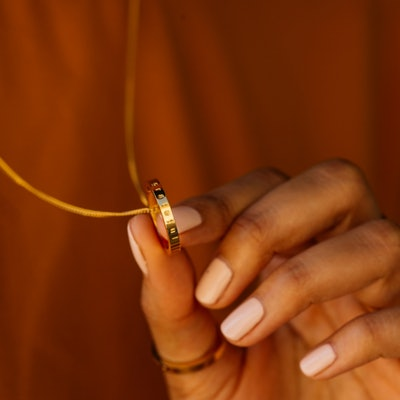 Grateful Mantra Ring