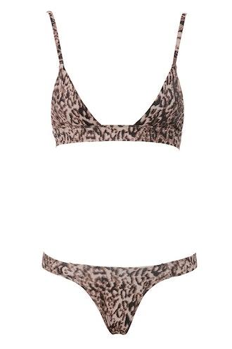 Rio Bueno Leopard Print Bikini
