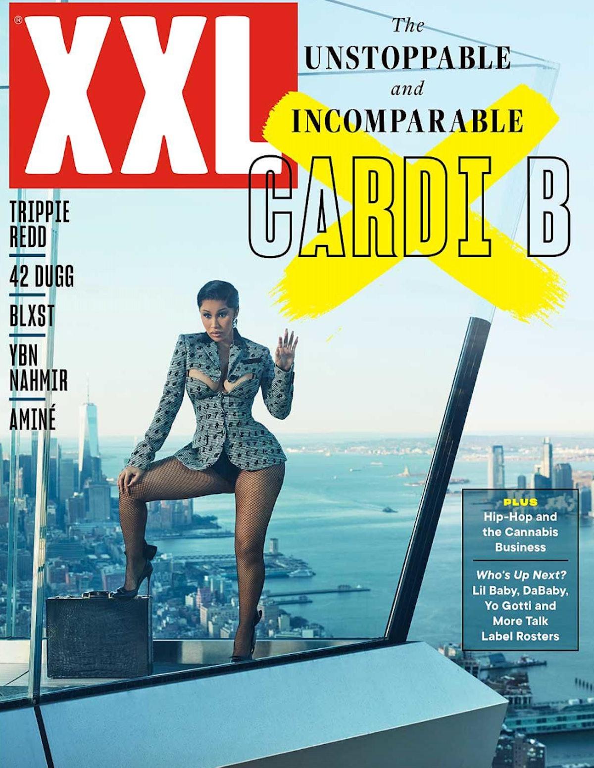 Cardi B graces the cover of XXL magazine.