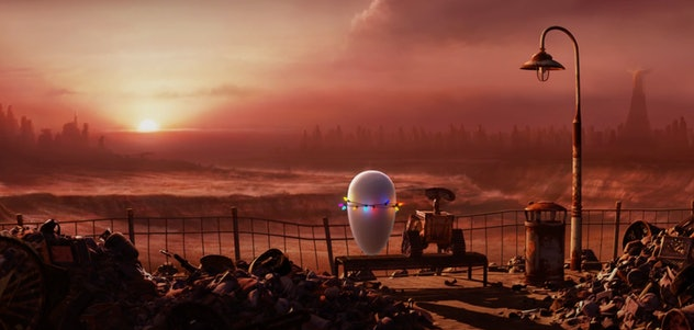 Wall-E is an animated film streaming on Disney+.