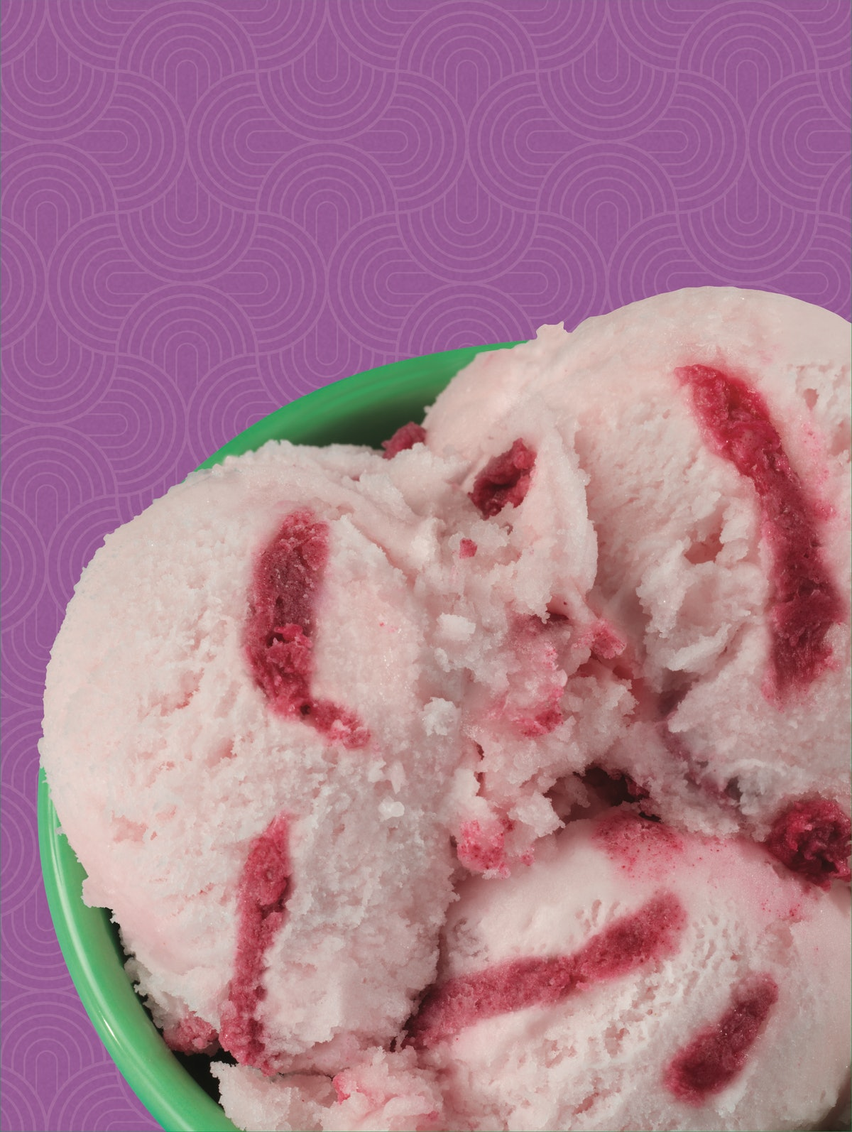 Baskin-Robbins' Watermelon Sorbet is a non-dairy offering.