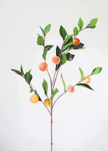 Artificial Fruit Branch of Peaches