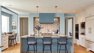 A Blue Kitchen