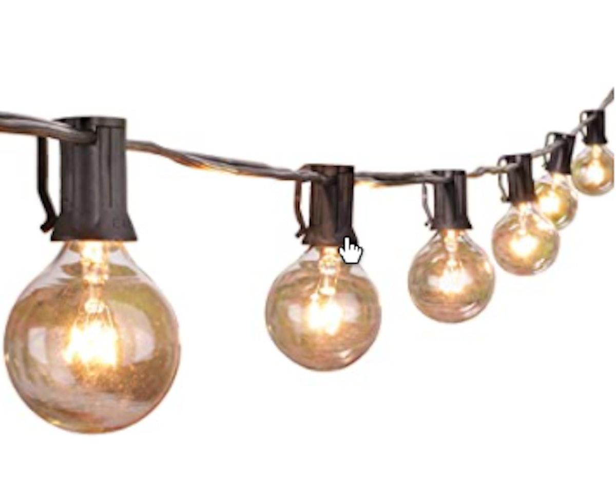 Brightown Globe Outdoor String Lights (25 Feet)