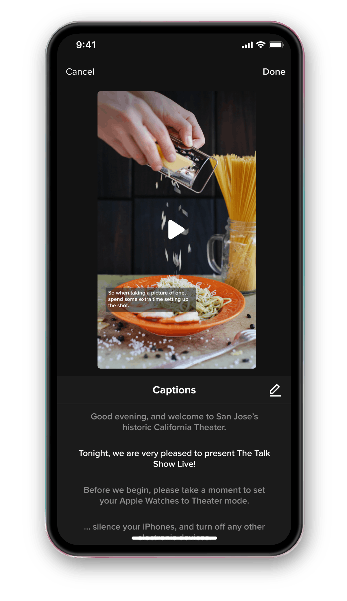 You can add automatic TikTok captions with a few simple steps.