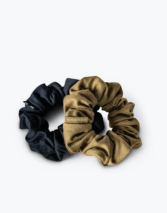 Two-Pack Organic Cotton Scrunchies