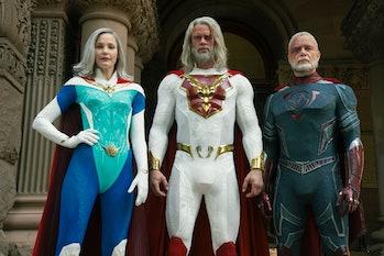 "The cast of ""Jupiter's Legacy"""
